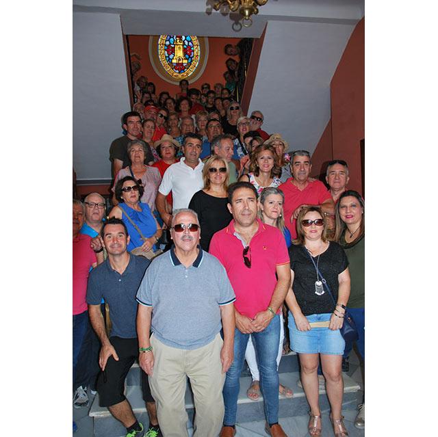 Visitando la casa consistorial de Torredonjimeno