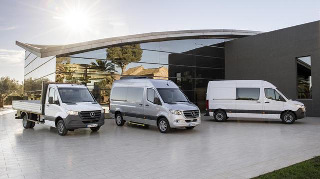 Nueva gama Mercedes-Benz Sprinter