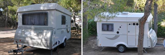 Acampando en el camping Vilanova Park