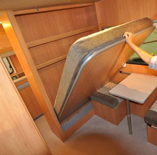 Como hacer una cama plegable finest litera con cama y zona de estudio abatible with como hacer - Construir cama abatible ...