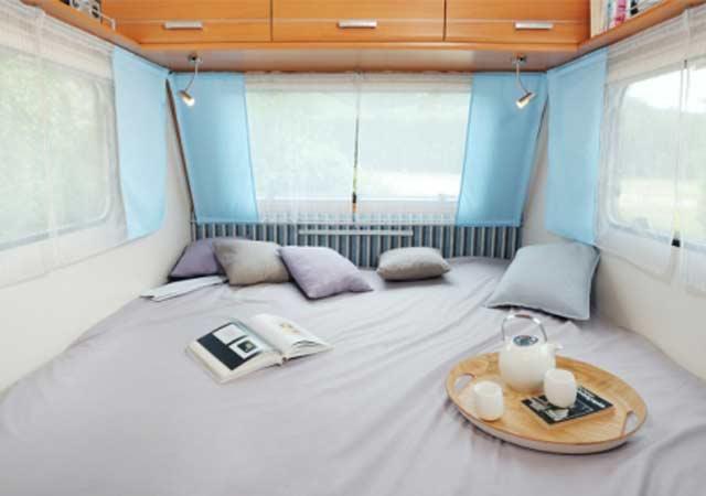 La gran cama de la Antarès Luxe 372