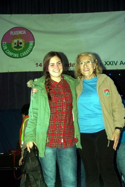 Beatriz Cuadrado fue la ganadora del concurso de selfies juvenil