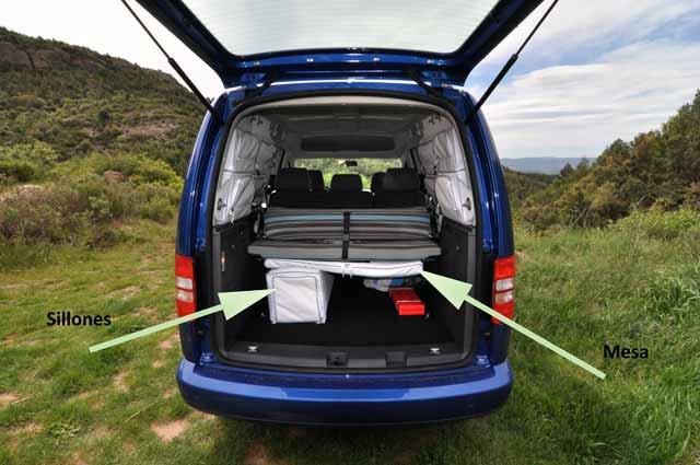 prueba volkswagen caddy maxi tramper 1 6 tdi. Black Bedroom Furniture Sets. Home Design Ideas