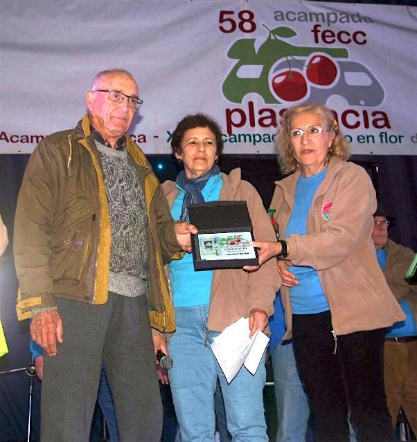 Ramón Pons con sus 88 años ha sido el campista de mayor edad