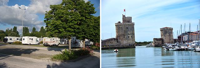Aparcamiento de La Rochele / Le vieux port de La Rochele