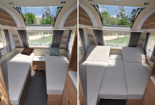 Caravana adria adora 482 lu for Cuanto mide una cama king size en metros