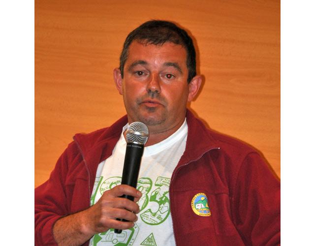 Pablo Bercedo coordinador general