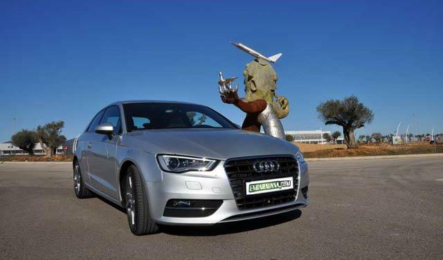 Frontal indudablemente Audi
