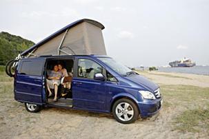 El Viano Marco Polo de Mercedes Benz ha sido renovado.