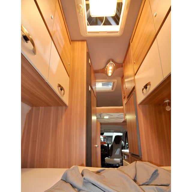 Vista interior de la Carabus 601 MQH