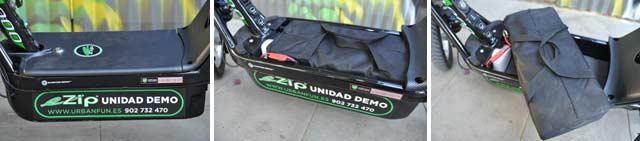 Las baterías son cómodas de transportar