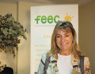 Ana Beriaín, presidenta de la FEEC