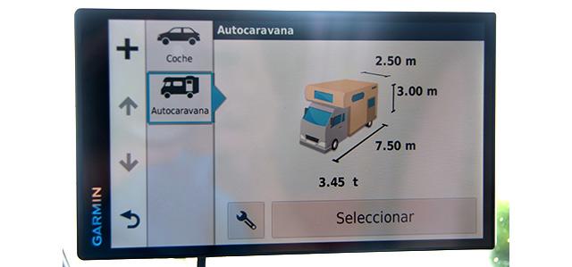 Es necesario introducir especificaciones acerca de nuestra autocaravana o caravana