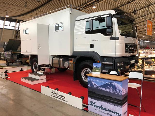 MAN TGM Explorer, un camión con cabina.