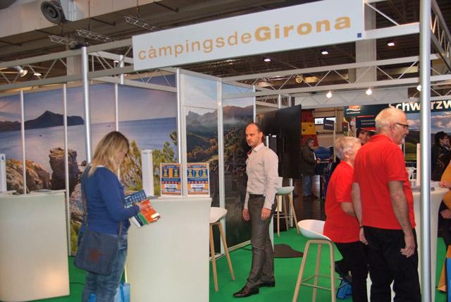 Stand de la Asociación de Campings de Girona
