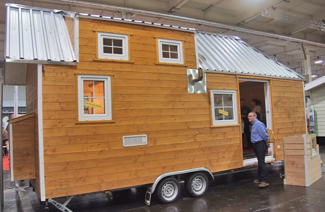 La caravana-cabaña Tiny House Rheinau