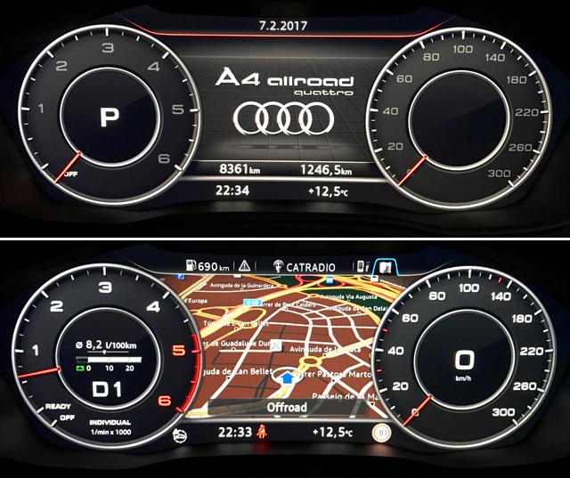El Audi Virtual Cockpit es un gran avance y se puede configurar al gusto del conductor.