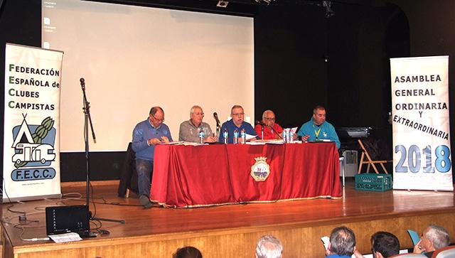 Como es tradión la Asamblea se celebró durante la Acampada Nacional FECC