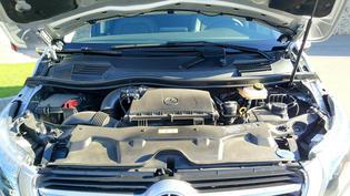 Motor del Mercedes Benz Marco Polo.