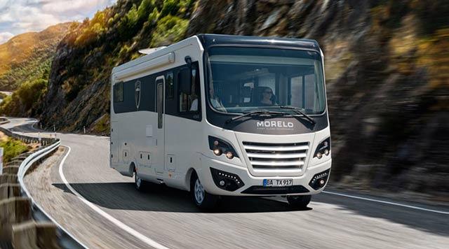 Las Morelo son autocaravanas premium con todo tipo de lujos en su interior.