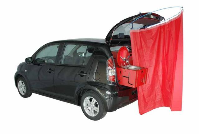 Convierta su coche en autocaravana for Cocinar 12v
