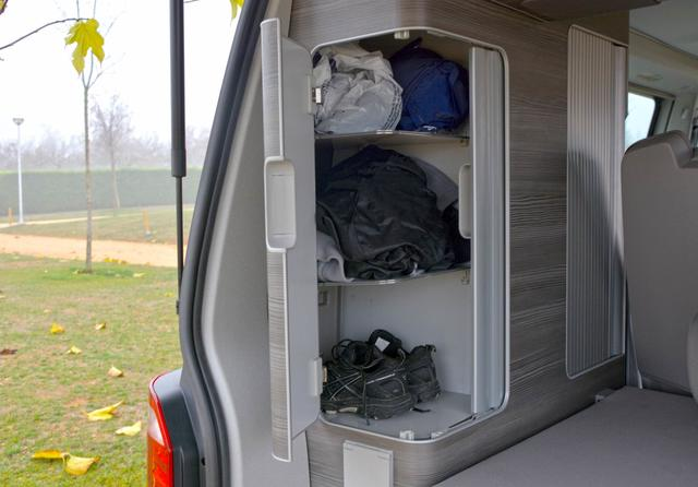 Los armarios interiores siguen manteniendo la misma distribución y capacidades