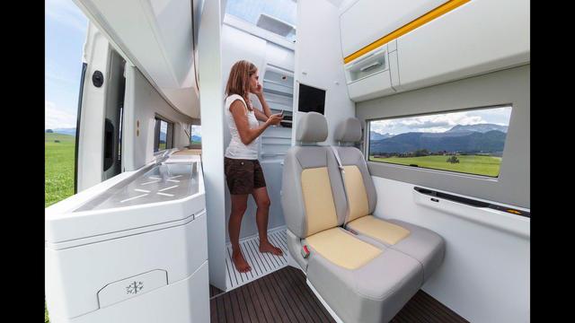 La camper del futuro de Volkswagen es más grande y digitalizada.