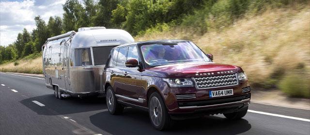 El Transparent Trailer De Land Rover Hace Transparentes Las