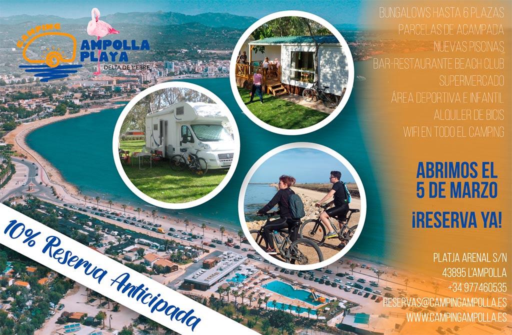 Camping Ampolla Playa Oferta