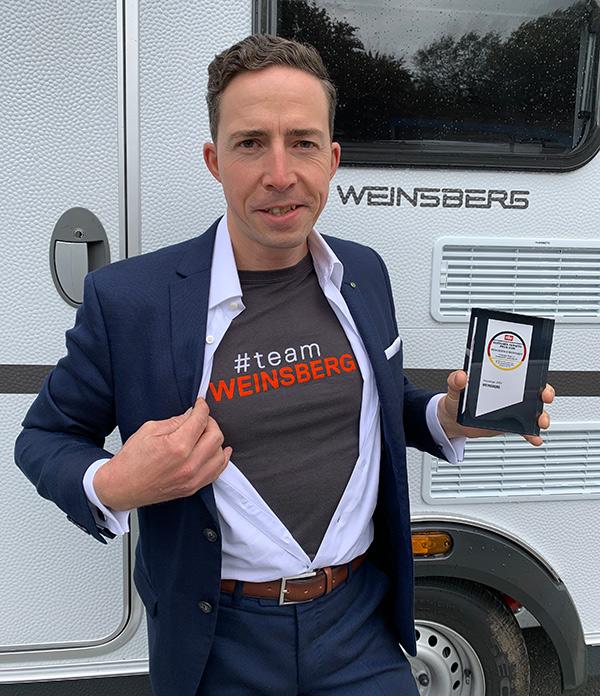 WEINSBERG Fairness Award EnCaravana