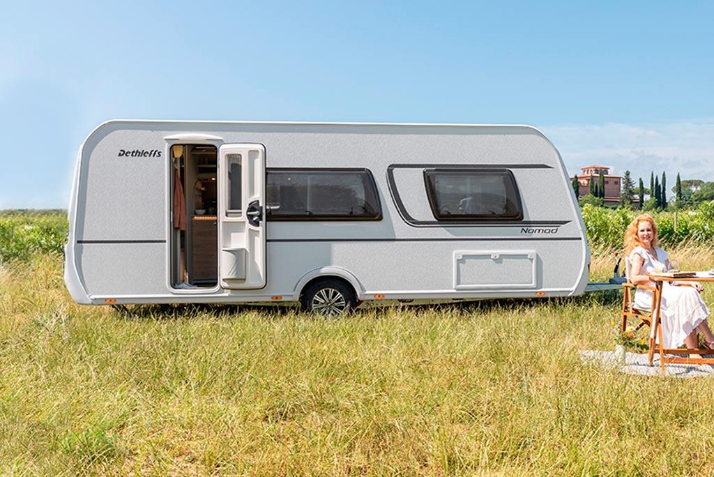 dethleffs caravana Nomad 520 ELT
