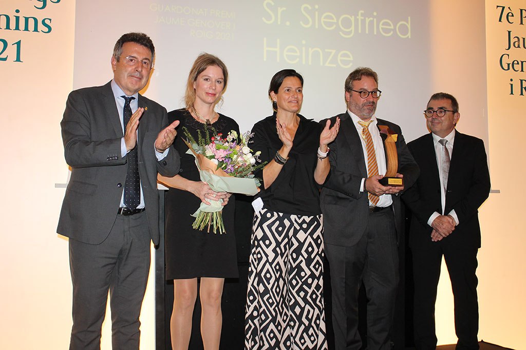Siegfried Heinze premio jaume genover encaravana